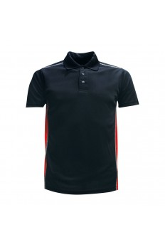 Microfibre Polo Side Stripe